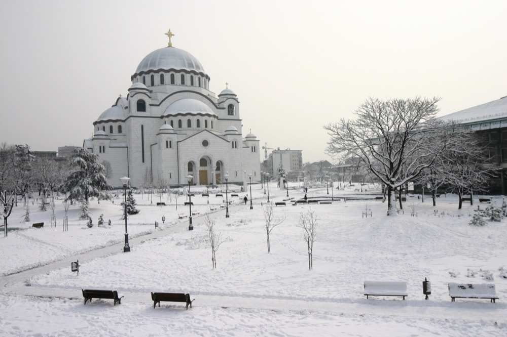 1 Tempio di San Sava Belgrado