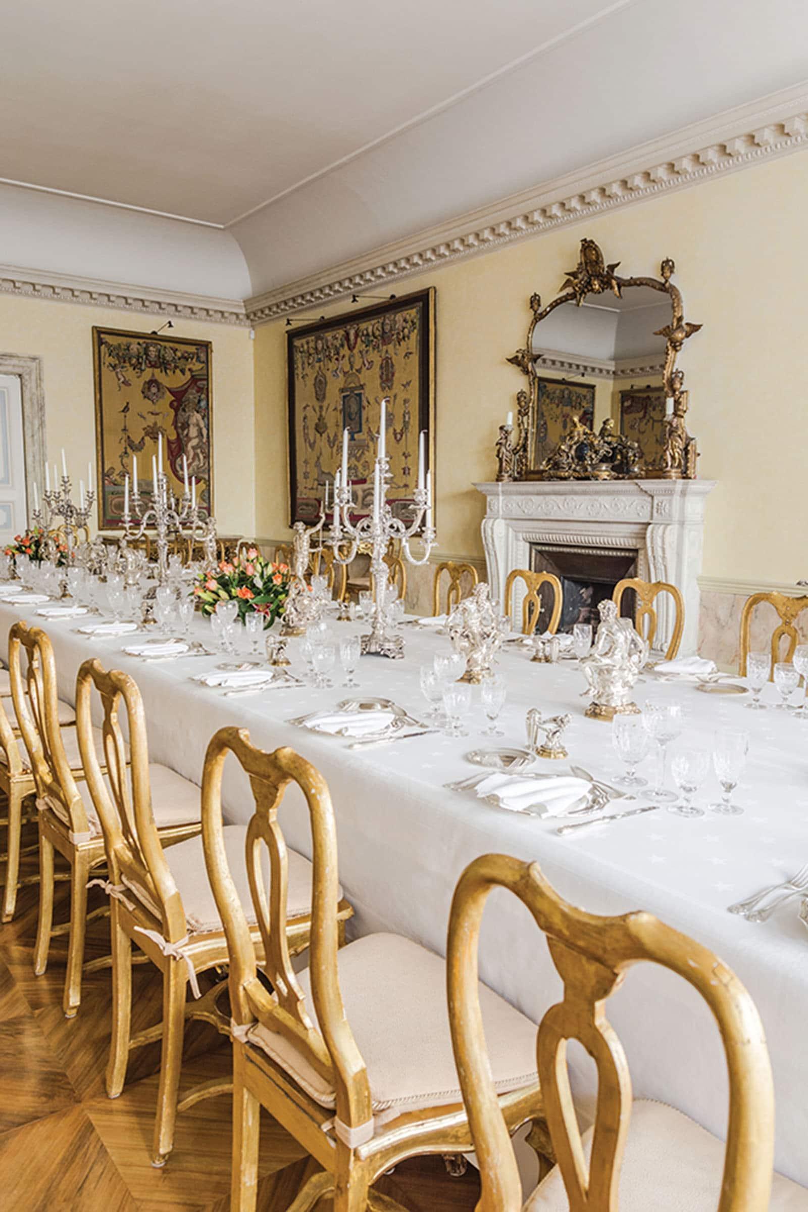 Sala pranzo, ambasciata, Londra