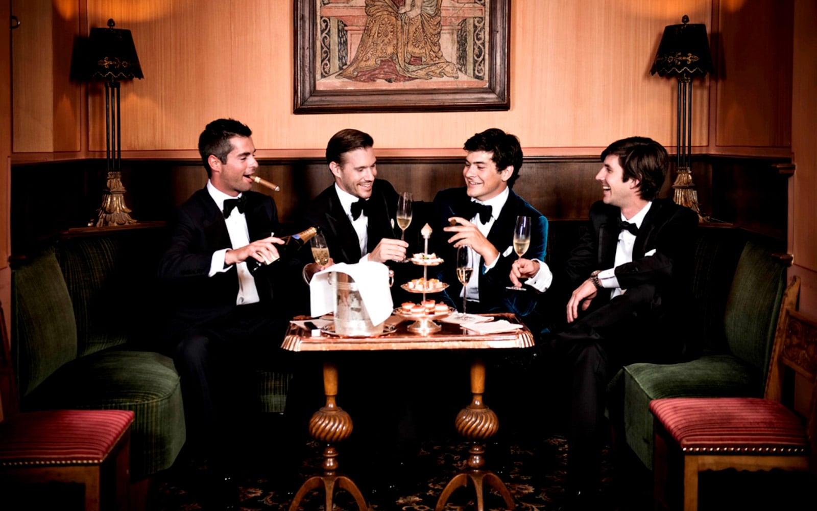 Cigar Lounge, Badrutt's Palace