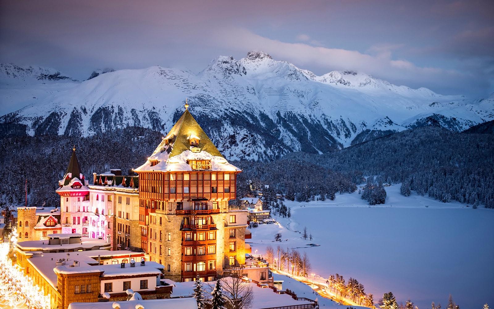 Badrutt's Palace, St. Moritz, Engandina