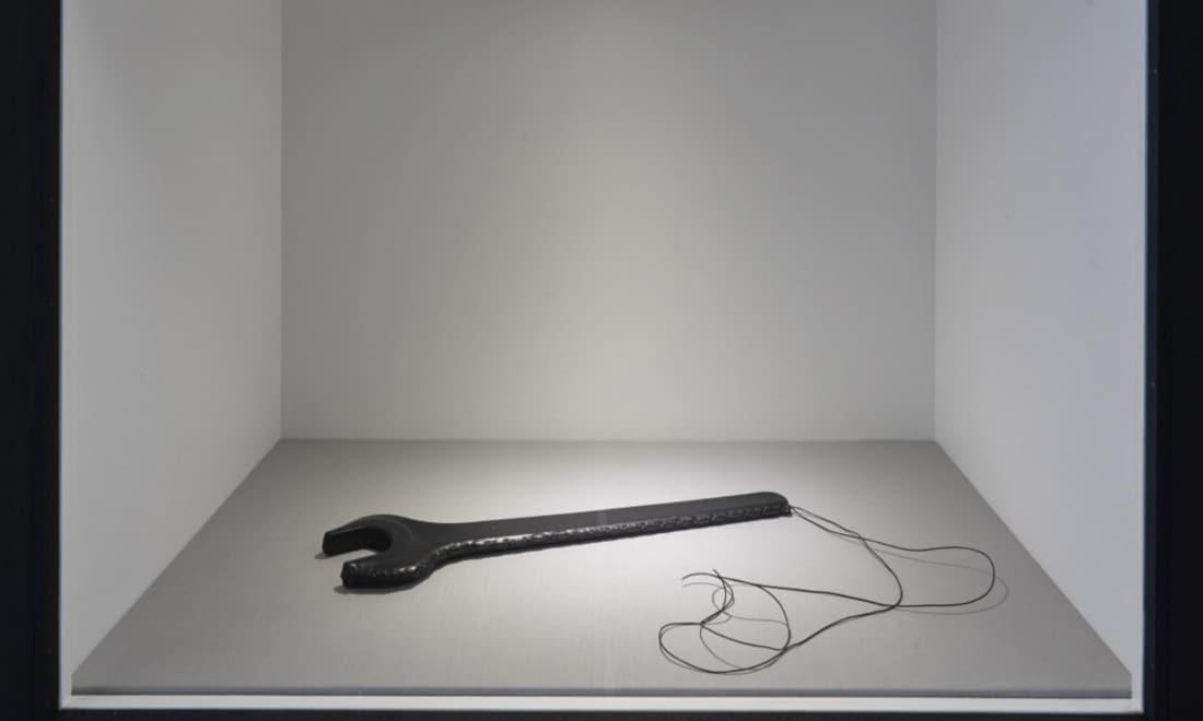 Monica-Bonvicini-Leather-Tool-wrench-Gateshead