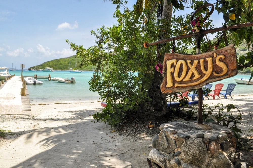 7 Jost Van Dyke Foxy's Bar
