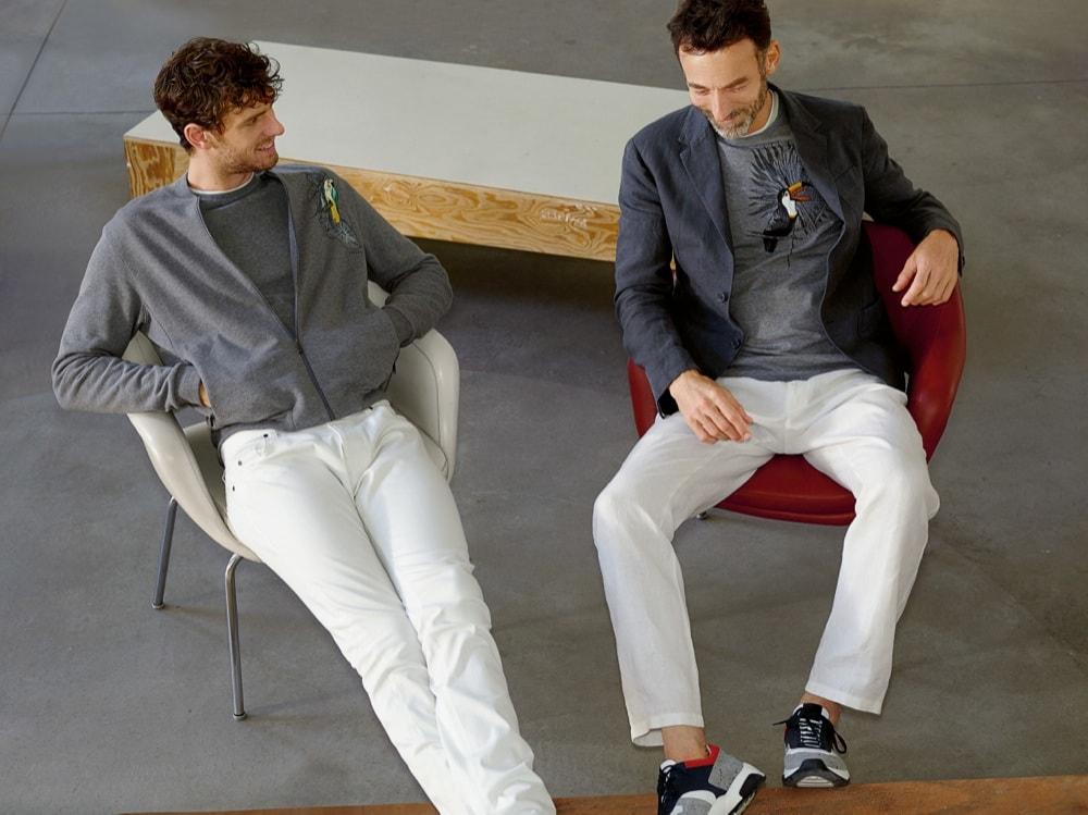 64e3e53598 Pantaloni bianchi da uomo, 5 modelli per l'estate 2017 - Icon