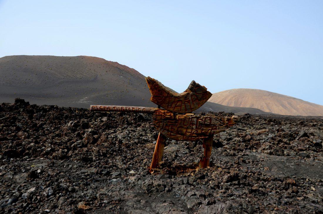 Ingresso al Parco dei vulcani Timanfaya