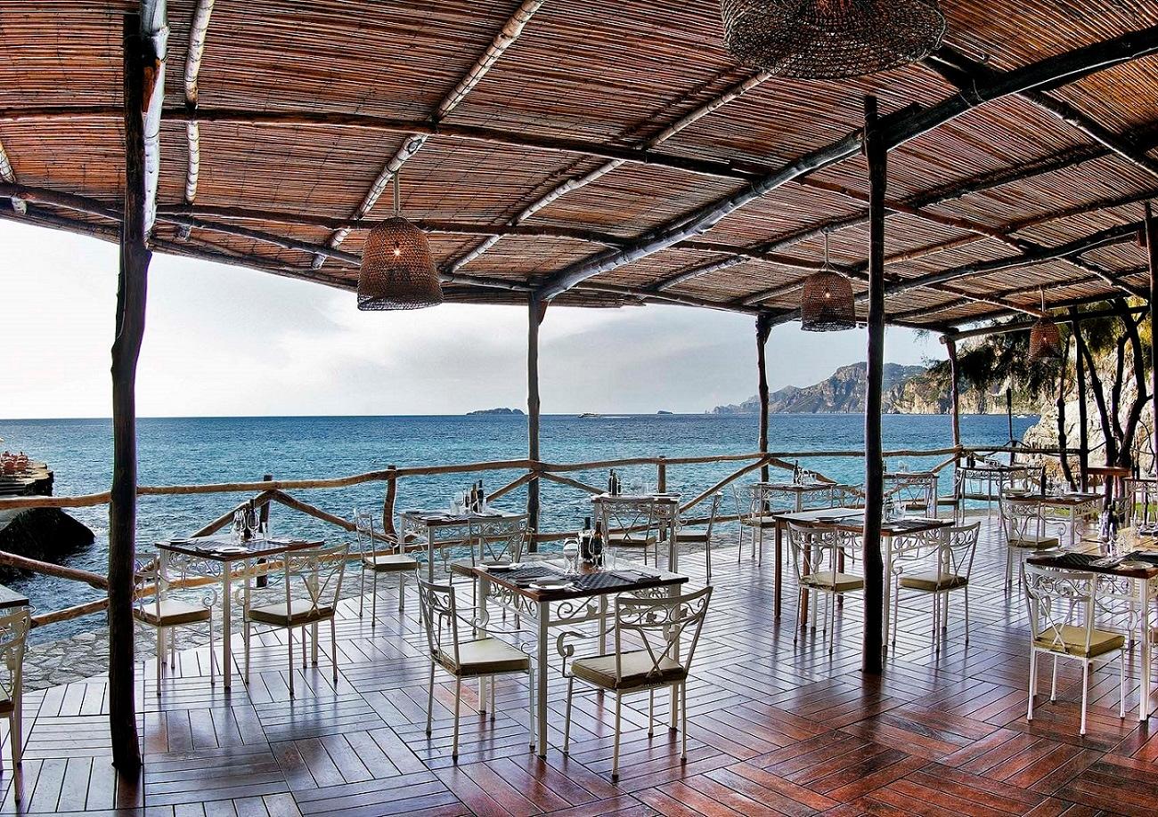 Carlino, Positano, ristorante