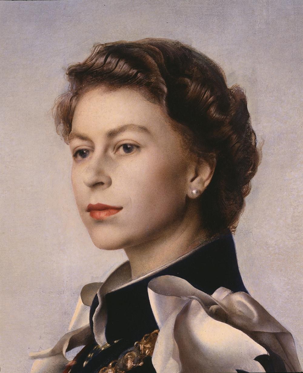 4 ritratto Elisabetta II