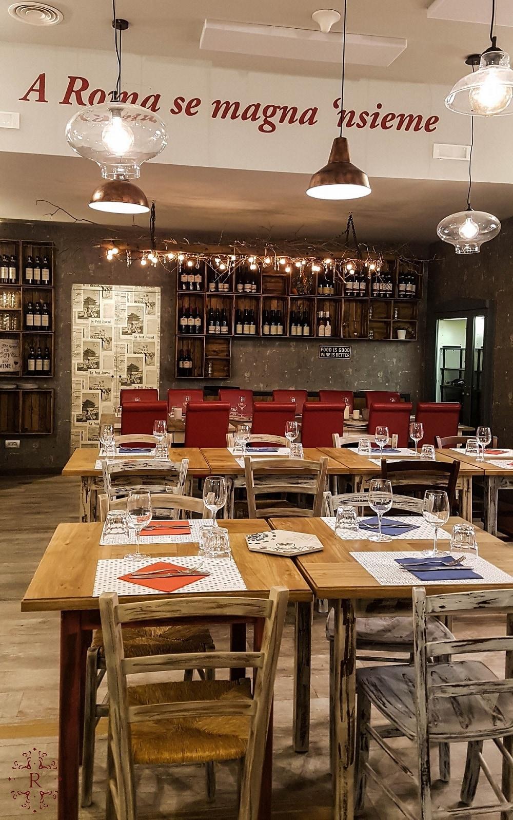Rione 13, Roma, ristoranti