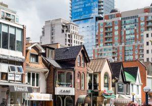 Toronto, nel quartiere di Yorkville