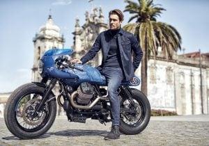 Vanguard: i jeans dedicati alla Moto Guzzi V7