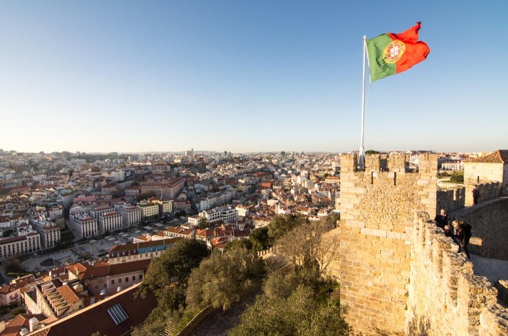 8 Castelo de Sao Jorge Lisbona