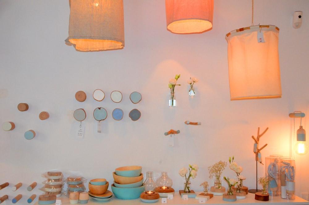 Interni del concept store La Variété