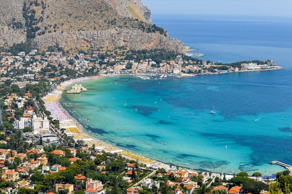 10 Spiaggia di Mondello Palermo