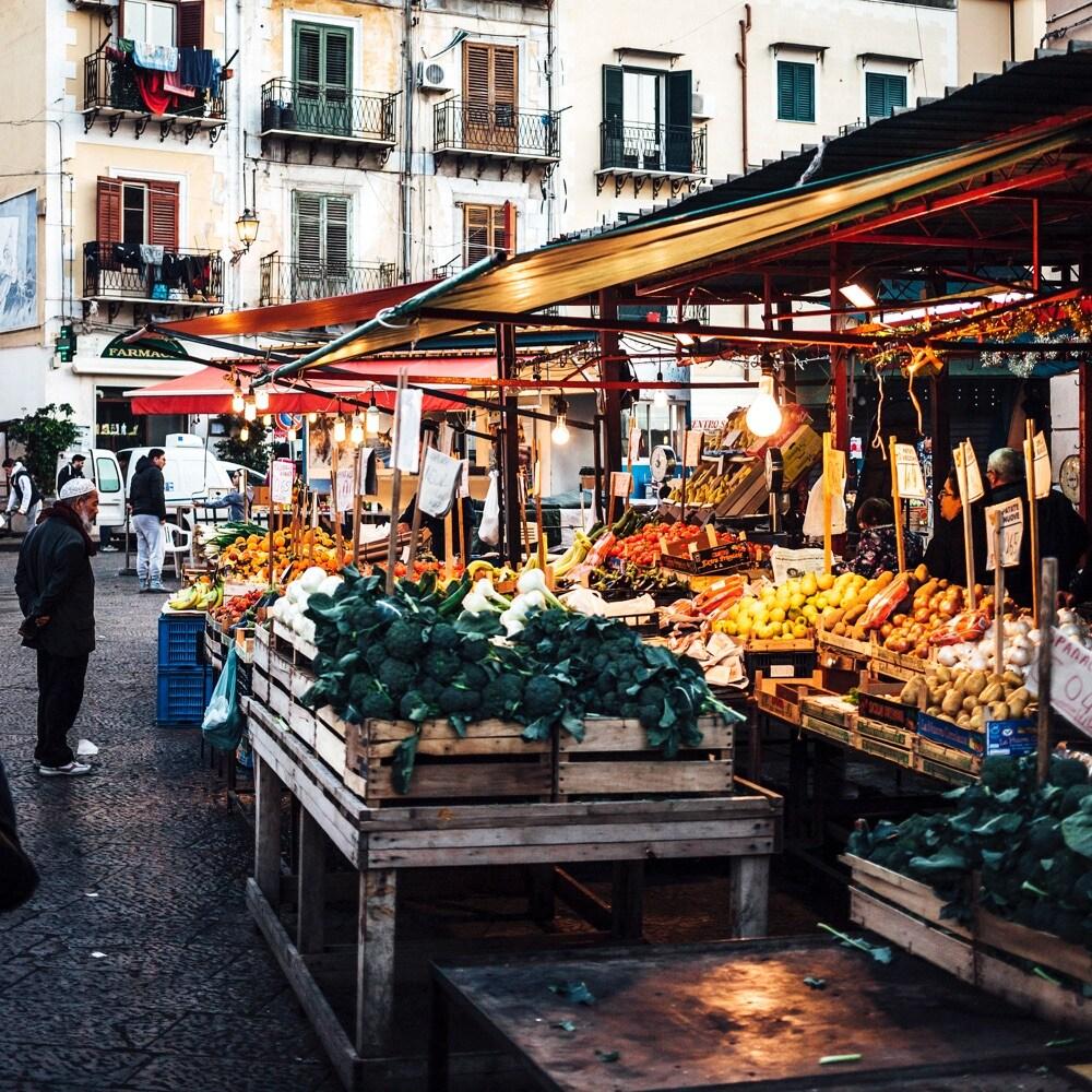 9 mercato di Ballaro