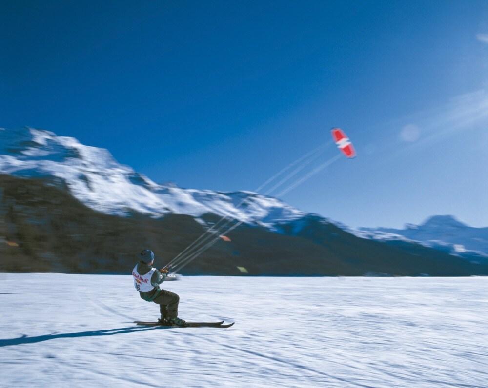 3 Snowkite lago silvaplana