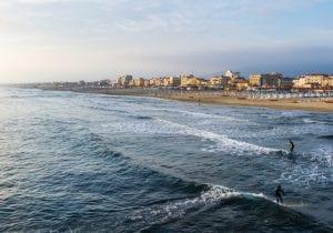 Italia, il mare d'inverno