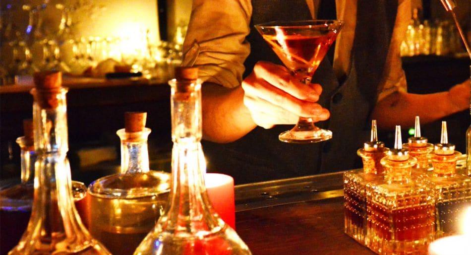 cocktail bar spiriti