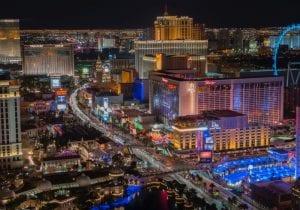 Las Vegas durante il Ces 2018