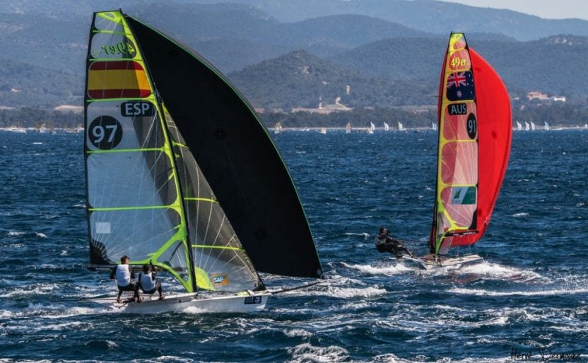 8 Isaf sailing World Cup Hyères