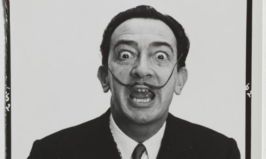 Variants-from-Dali-s-mustache-Halsman-Archive