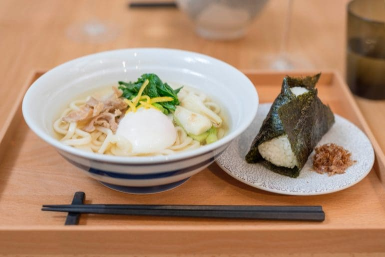 tenoha_Udon lunch set_2