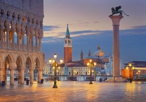 La Venezia e il Lido di Hugo Pratt