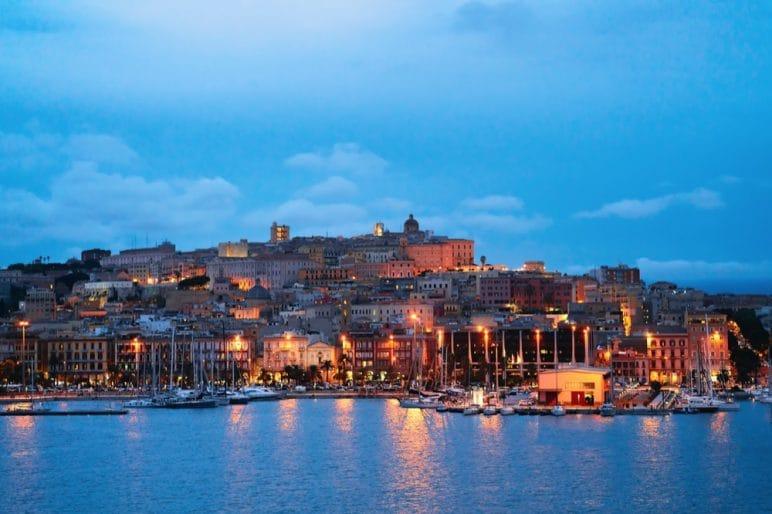 10 Cagliari di sera