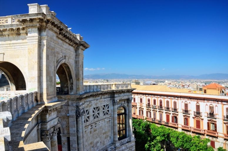11 Cagliari Bastione di Saint Remy
