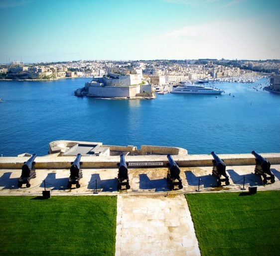 9 The Grand Harbour from the Barrakka Gardens