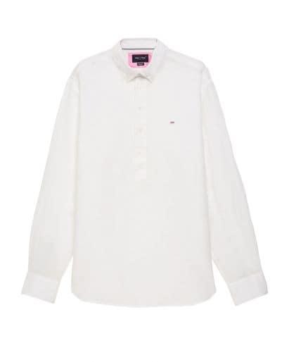 SS18 aplat PE18 BLEUE chemise shirt 98CHECLE0016BC
