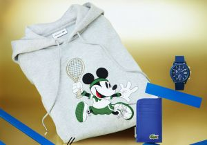 Lacoste e Disney: la capsule per l'anniversario di Mickey Mouse