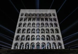 01_FENDI for Lux Formae videomapping PDCI by Laszlo Bordos for Videocittà