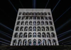 Lux Formae: Fendi celebra Roma con il videomapping