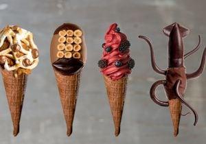 Gelato d'inverno: il cono di design di Giapo Ice Cream