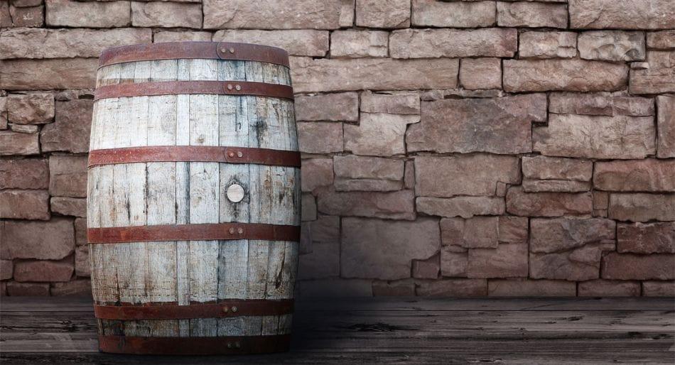 whisky botte legno
