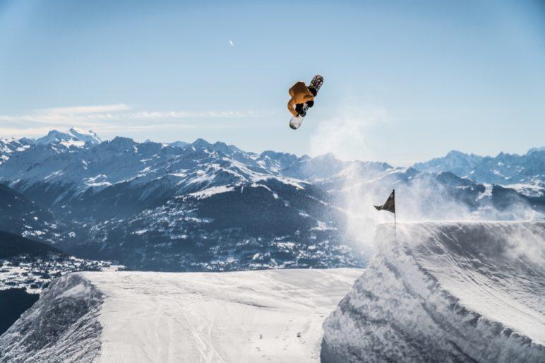8 Snowpark Crans Montana