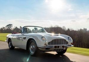 Aston Martin classiche a zero emissioni