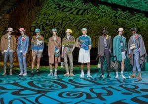 Dior uomo sfila a Miami con la collezione Pre-Fall 2020