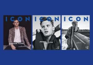 Le copertine del numero 57 di Icon