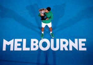 Novak Djokovic, dalla vittoria degli Australian Open al palco di Sanremo