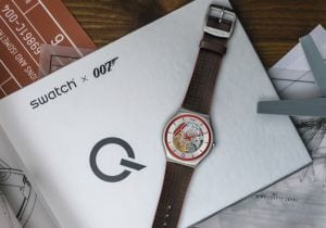 Swatch x 007, un orologio in limited edition per No Time to Die