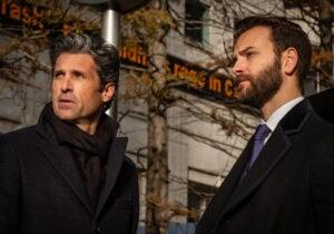 """Alessandro Borghi e Patrick Dempsey raccontano la nuova serie """"Diavoli"""""""