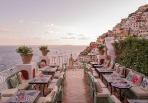Le Sirenuse Positano, mixology con vista all'Aldo's Cocktail Bar