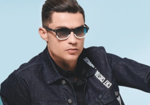 Cristiano Ronaldo insieme a Italia Independent per la collezione CR7 Eyewear