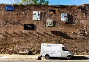 A Roma, arte e libertà sulle Mura Aureliane