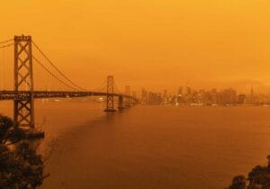 San Francisco e gli incendi, una città in fiamme