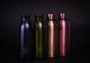 24Bottles Embossed Collection, il nuovo lusso delle bottiglie sostenibili