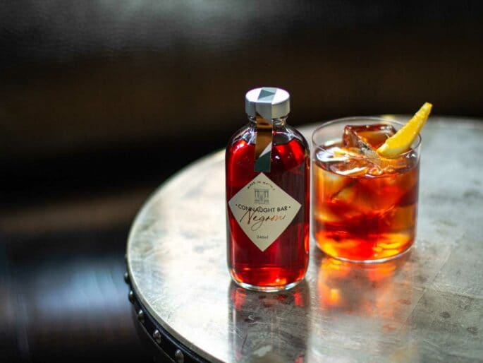 Connaught-Bar-Negroni-cocktail-a-base-Gin