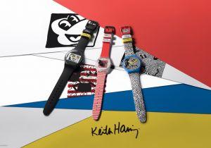 Swatch Disney Mickey Mouse X Keith Haring, la nuova collezione pop di orologi unisex